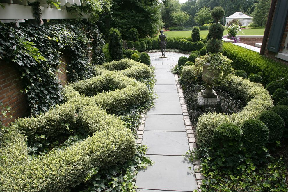 Formal Knot Garden $style In $location