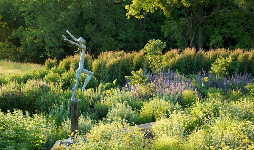 Lowes Mansfield Ohio with Contemporary Landscape Also Foliage Garden Sculpture Grasses Mass Planting Natural Light Purple Flowers