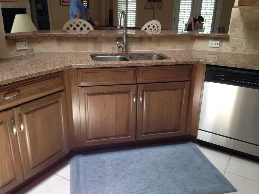 Lowes Port Orange   Contemporary Kitchen Also After Remodel