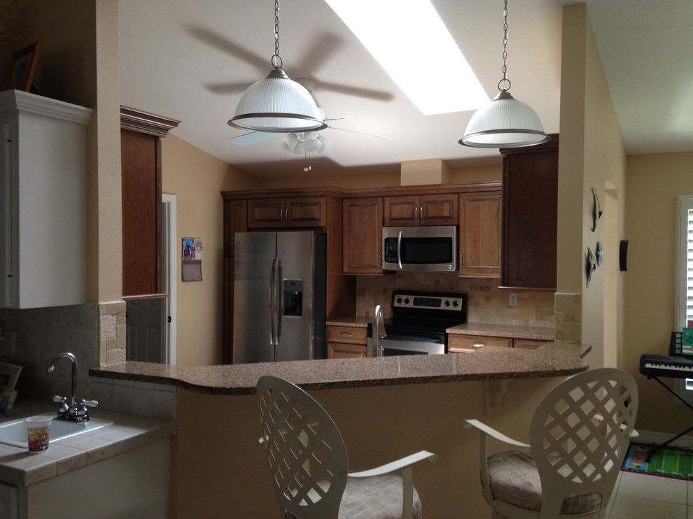 Lowes Port Orange   Contemporary Kitchen  and After Remodel