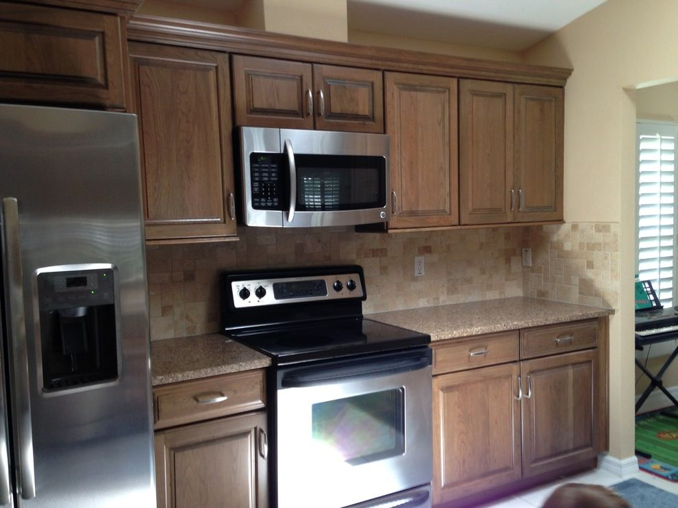 Lowes Port Orange with Contemporary Kitchen  and After Remodel