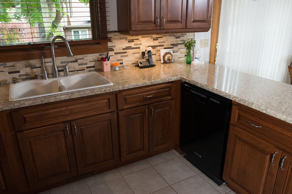 Lowes Rapid City Sd   Traditional Kitchen  and Before and After Before and After Kitchen Before and After Photos Custom Cabinets Kitchen Before and After Kitchen Cabinets Space Saving Traditional Kitchen