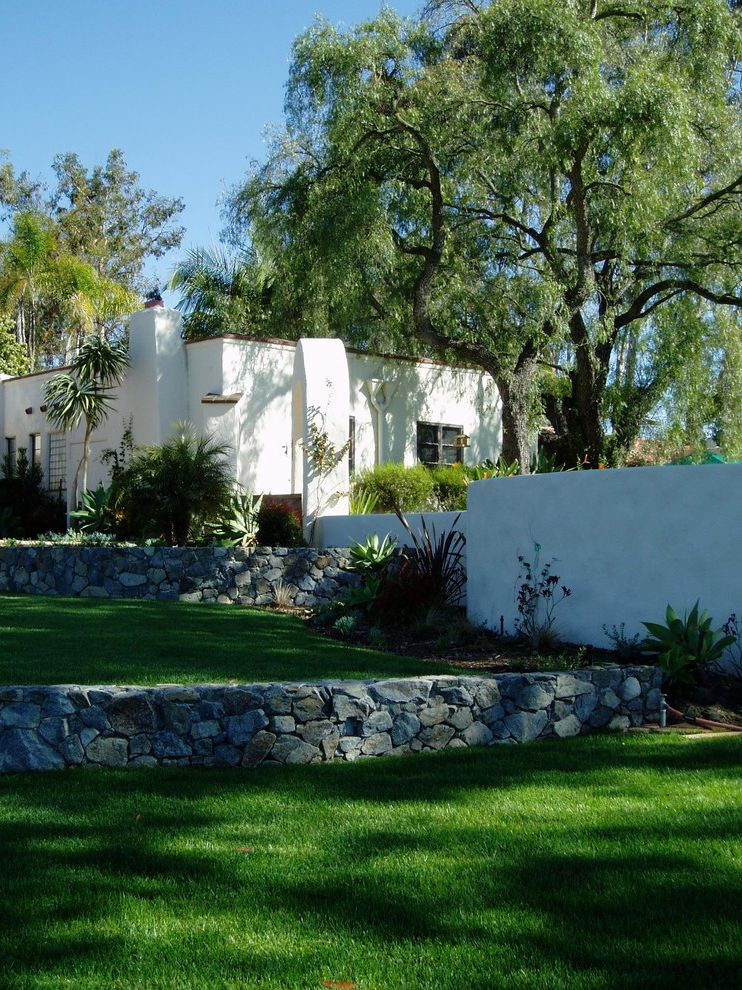 Lilian Rice, Estate Landscape, Rancho Santa Fe, Courtyard, Pavers $style In $location