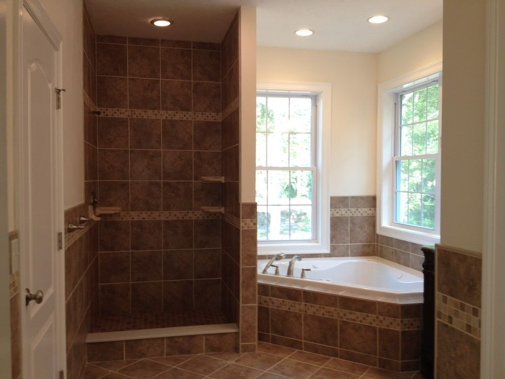 Lowes Seekonk with Traditional Bathroom and Bathroom Brown Brushed ...