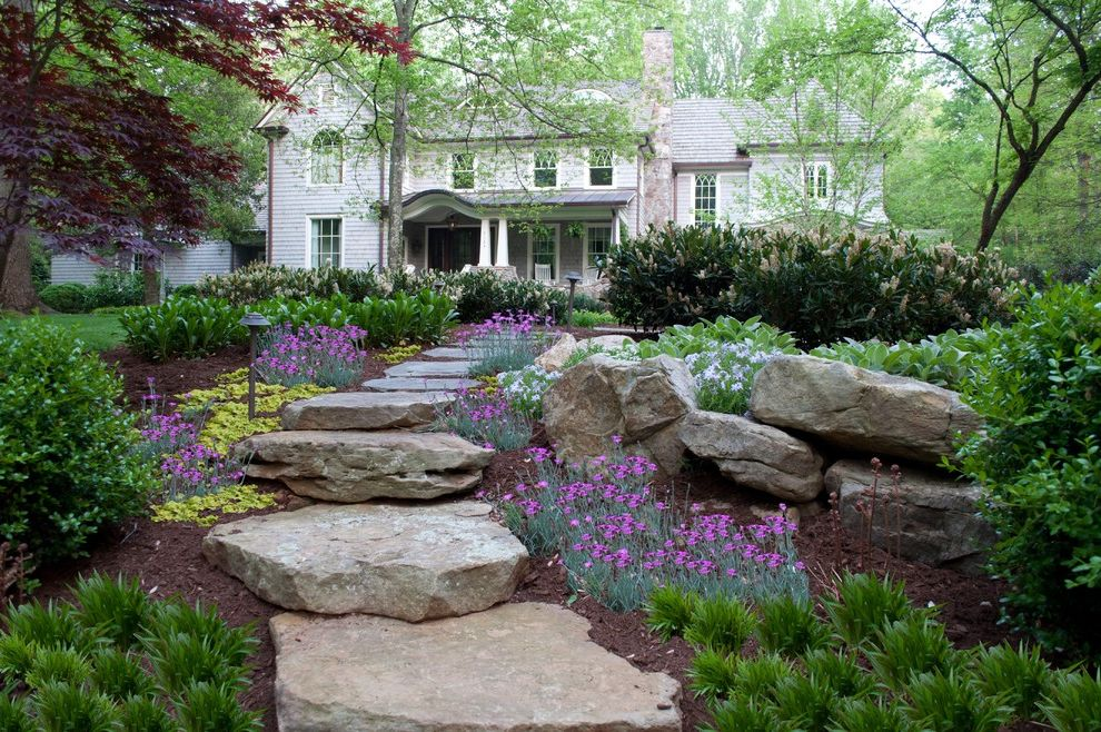 Lowes Sioux Falls   Traditional Landscape  and Landscape Stepping Stones Steps