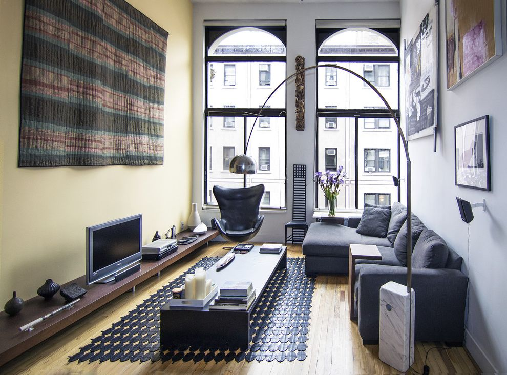 Greenwich Village Loft Living Room $style In $location