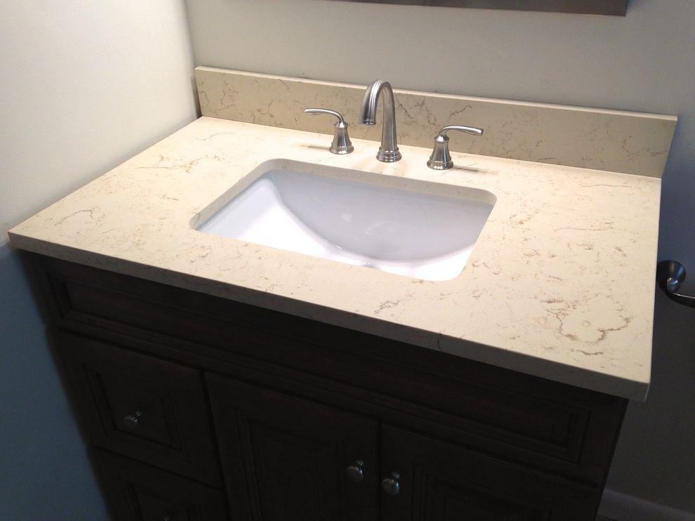 Lowes Virginia Beach with Transitional Bathroom Also Bathroom Bathtub Shelf Brushed Nickel Countertop Glass Mosaics Hall Bath Hardware Intergrated Sink Lowes Raised Panel Vanity Rectangle Sink Remodel Virginia Beach