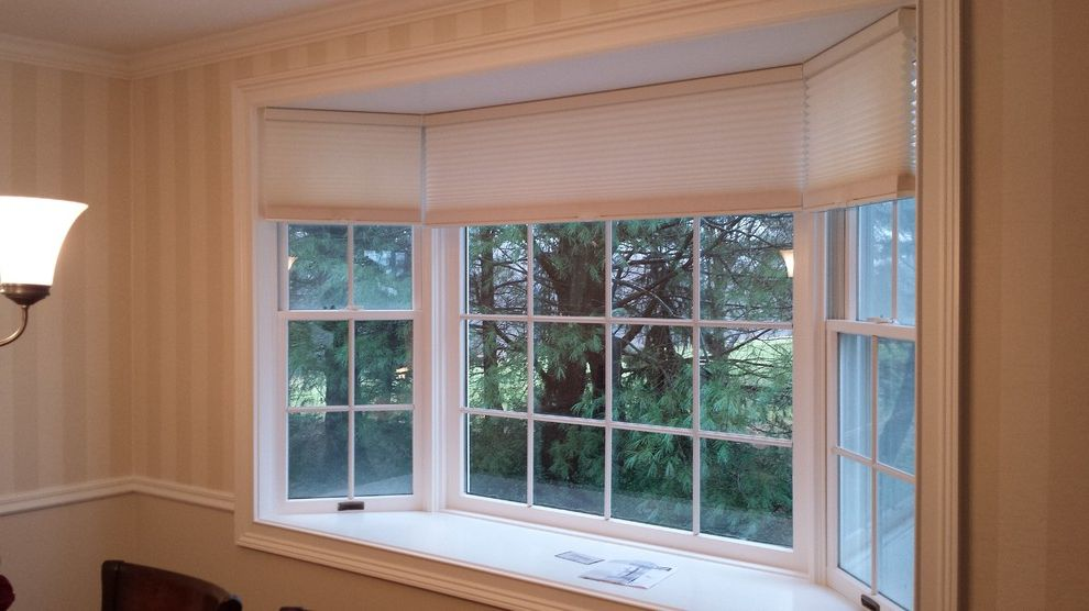 Mangia Watertown Ct with Modern Dining Room Also Cellular Shades Custom Made Hunter Douglas Shades