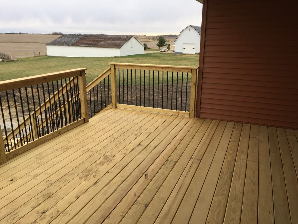 Marini Homes   Traditional Deck  and Traditional