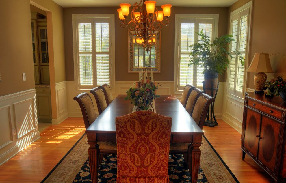 Marini Homes   Traditional Spaces Also Builder Model Home Decorating Ideas