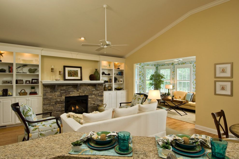 Marini Homes   Traditional Spaces  and Traditional