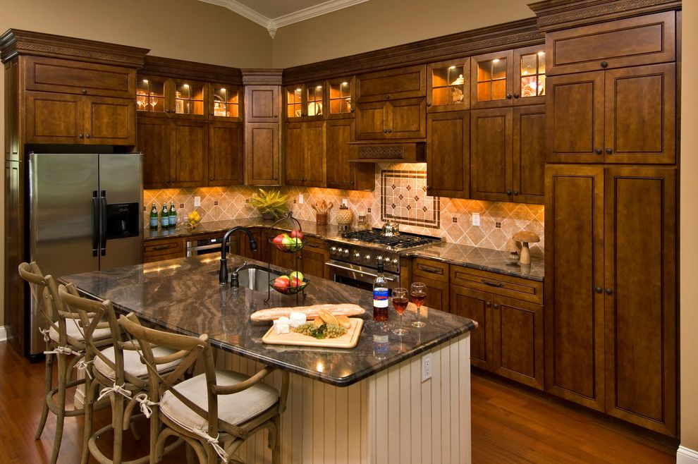 Marini Homes with Traditional Spaces Also Traditional