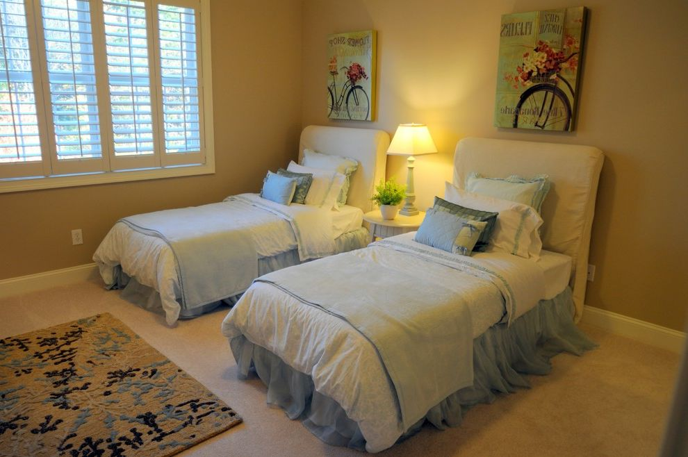 Marini Homes with Traditional Spaces  and Builder Model Home Decorating Ideas
