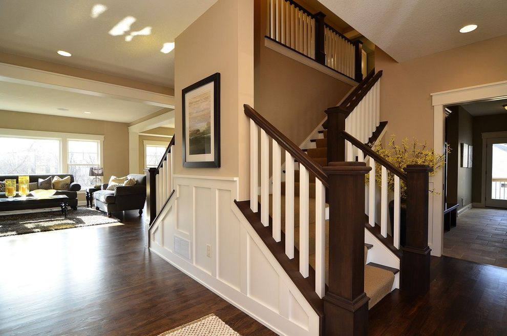 Mcallister Construction   Traditional Staircase  and Traditional