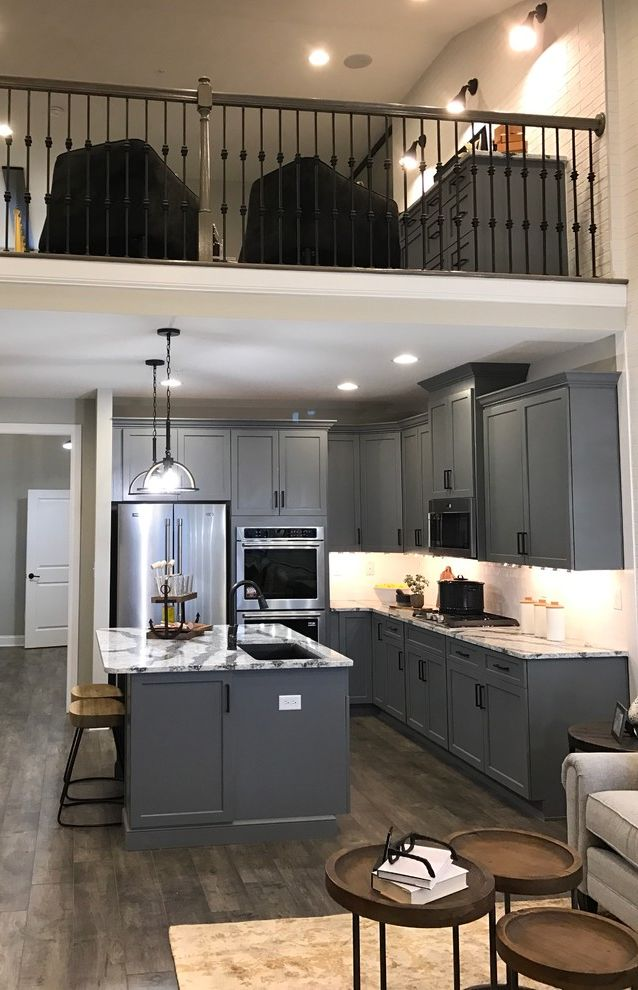 Mckee Builders with Transitional Kitchen Also 55 Active Adult Bay Bridge Cove Chesapeake Bay Coastal Decor Kent Island Kitchens Living Room Mckee Builders New Construction One Floor Living Townhouse Transitional Volume Spaces