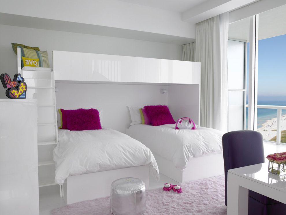 Mckelvey Homes with Contemporary Bedroom Also Furniture Kids Bedroom Ladder White Cabinets