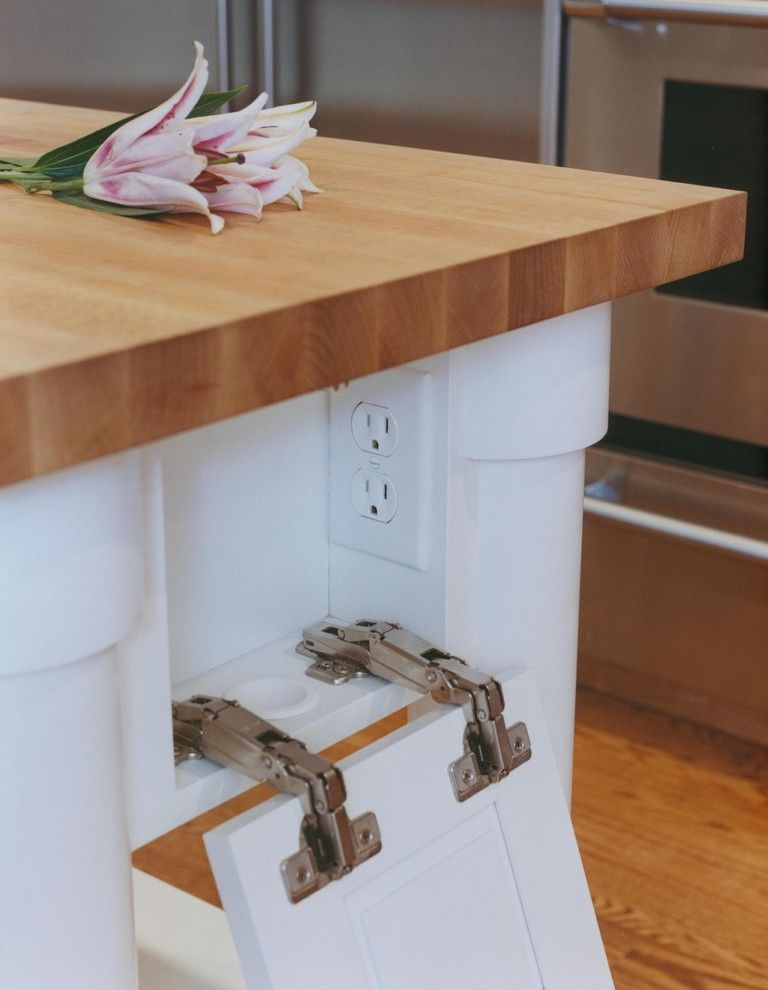 Mealey's Furniture Outlet with  Kitchen  and Butcher Block Concealed Outlet Custom Cabinetry Hidden Plug