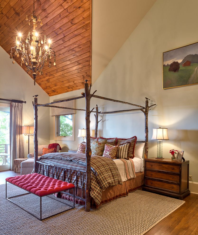 Mens Bed Frames Rustic Bedroom and Branch Bed Frame Canopy Bed Chandelier Eclectic Four Poster Bed High Ceiling Iron Ottoman Poster Bed Red Bench Red ... & Mens Bed Frames for Rustic Bedroom and Branch Bed Frame Canopy Bed ...