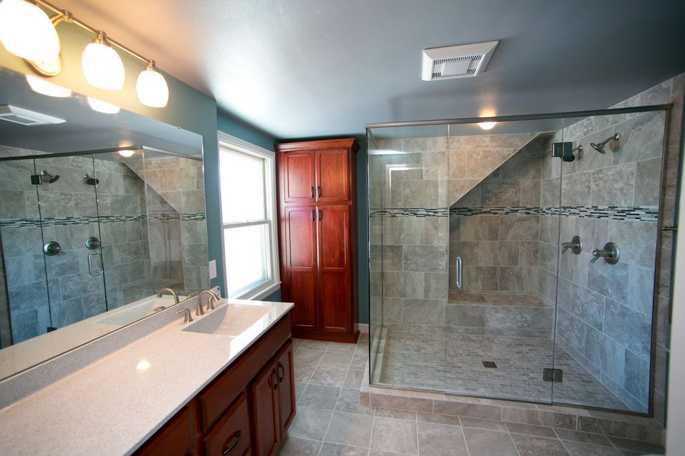 Mens Closet Ideas   Transitional Bathroom Also Transitional