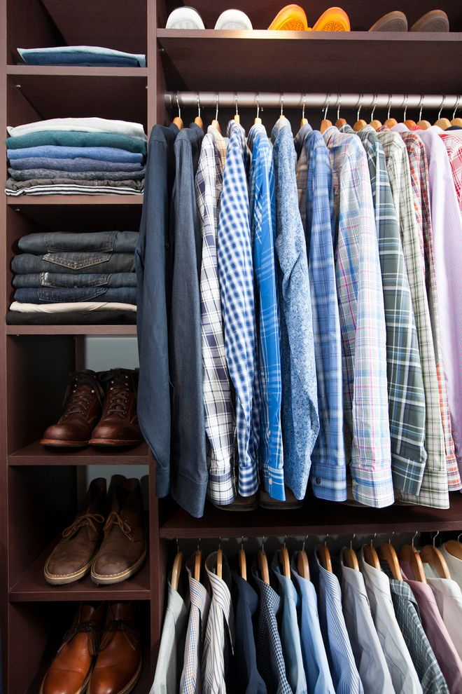 Mens Closet Ideas with  Spaces  And