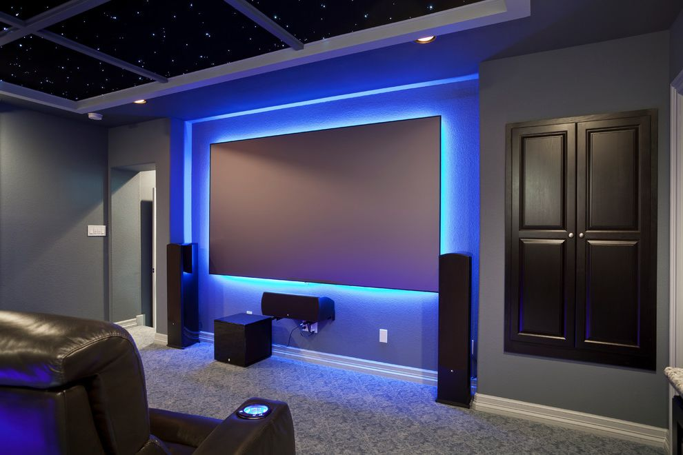 Metropolitan Theater Austin with Contemporary Home Theater  and Contemporary