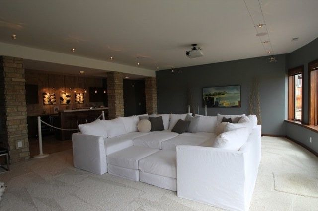 Mgbwhome   Contemporary Home Theater Also Contemporary