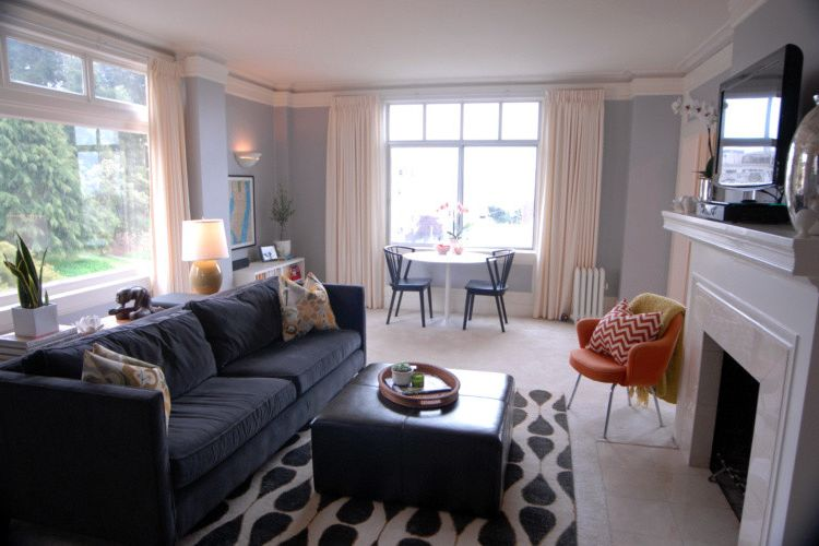 Mgbwhome with Eclectic Living Room  and Eclectic