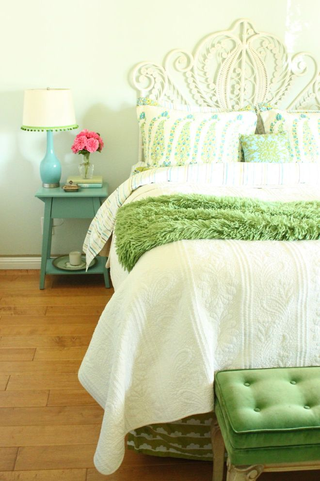 Turquoise And Green Bedroom $style In $location