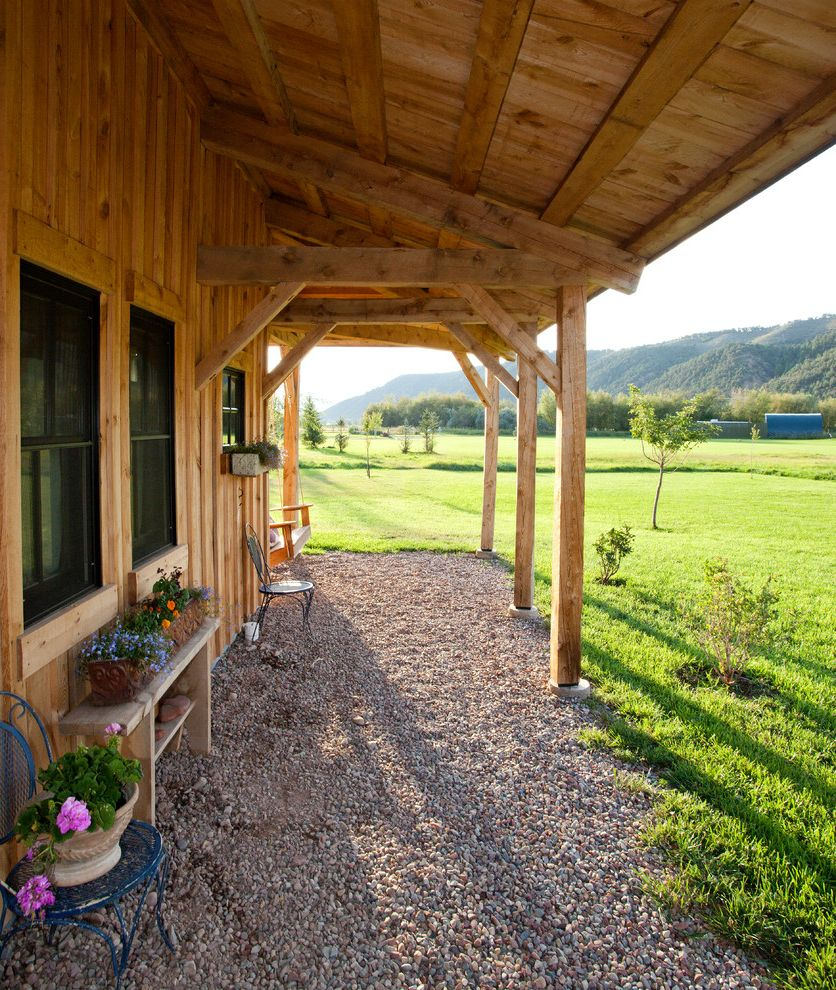 Mobile Home Porch Kits With Farmhouse Porch And Beams