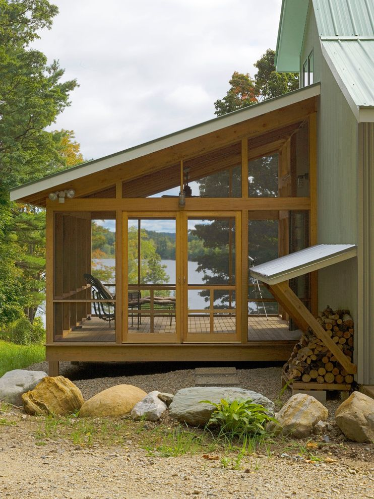 Mobile Home Porch Kits With Craftsman Porch And Adirondack