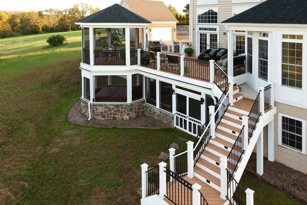 Moisture Shield Decking   Traditional Deck Also Decking Decks Outdoor Living