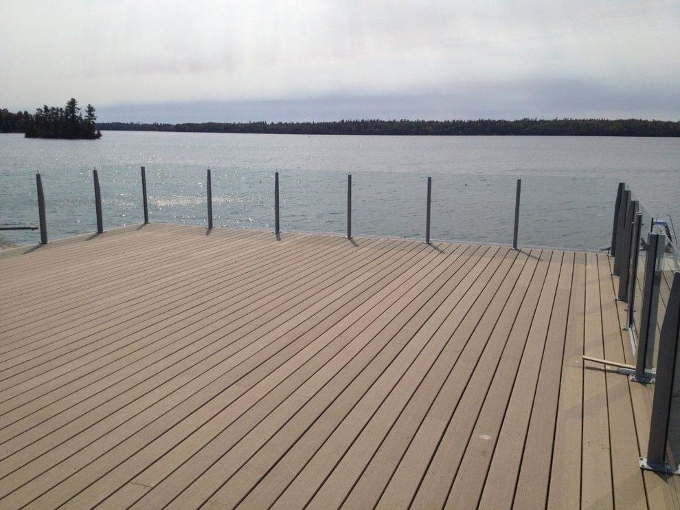 Moisture Shield Decking For Contemporary Spaces And