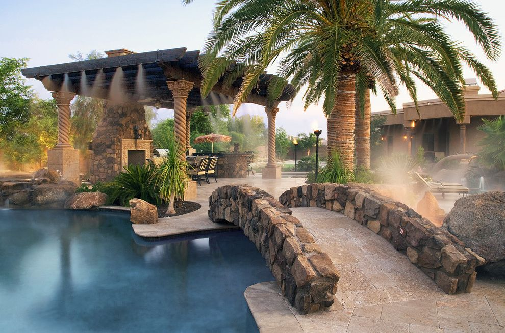 Award Winning Pool Featuring Appalachian Field Stone Siding - Coronado Stone $style In $location