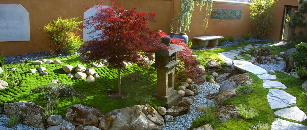 Moss And Associates With Asian Landscape Also Flagstone Garden Wall Japanese Maple Style Pagoda