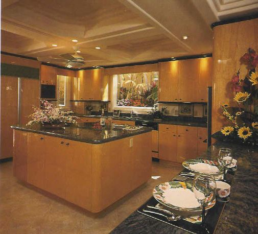 Moss and Associates with Contemporary Spaces Also Traditional Kitchen