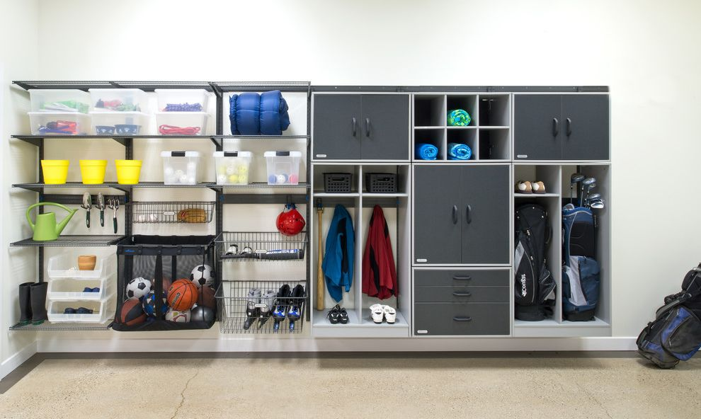 Motorized Garage Storage Lift with Traditional Shed Also Garage Cabinets Garage Storage Organization Systems Shelves Shelving Storage Shelving System Storage for Garage Storage Solutions Storage System Storage Systems