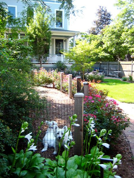 Movement Mortgage Reviews with Traditional Landscape Also Dog Run Fencing Sustainable Roses