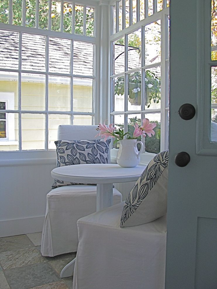 Movies Boca Raton with Traditional Laundry Room Also Chair Covers Clerestory Cottage Decorative Pillows Entrance Entry Monochromatic Porch Slipcovers Sunroom Throw Pillows