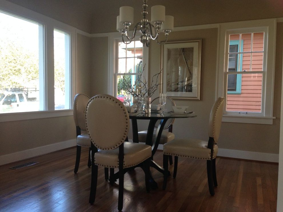 Nailing Hardwood Floors with Traditional Dining Room Also Chrome and Glass Chandelier Renovated Dining Room Top Nail Hardwood Floor