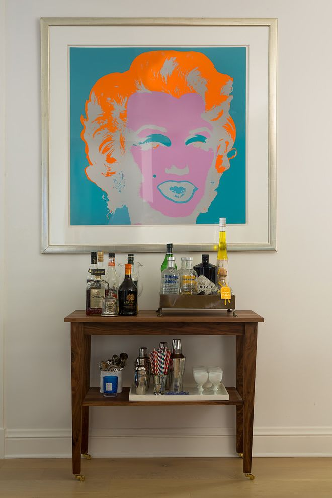 Narrow Bar Cart with Contemporary Home Bar Also Andy Warhol Marilyn Small Bar Cart Walnut Bar Cart