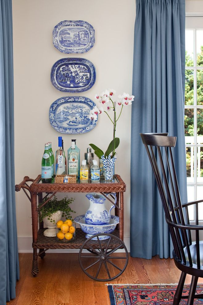 Narrow Bar Cart with Traditional Home Bar Also China Curtains Orchids Plates on Wall Rolling Bar Cart Wicker Bar Cart