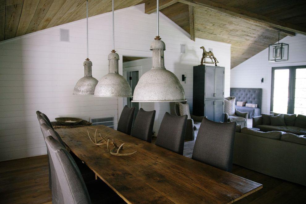 Narrow Farmhouse Table with Farmhouse Dining Room Also My Houzz