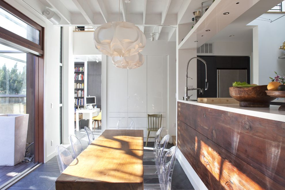 Narrow Night Table with Contemporary Dining Room Also Cloud Pendant Dining Table Exposed Rafters Ghost Chair Industrial Modern Dining Chairs Open Kitchen Pendant Reclaimed Wood Starck White Pendant Wood Dining Table