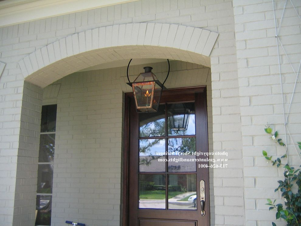New Orleans Gas Lights Traditional Entry Also Front Door Porch Lamp Lantern Light Sconce Hanging