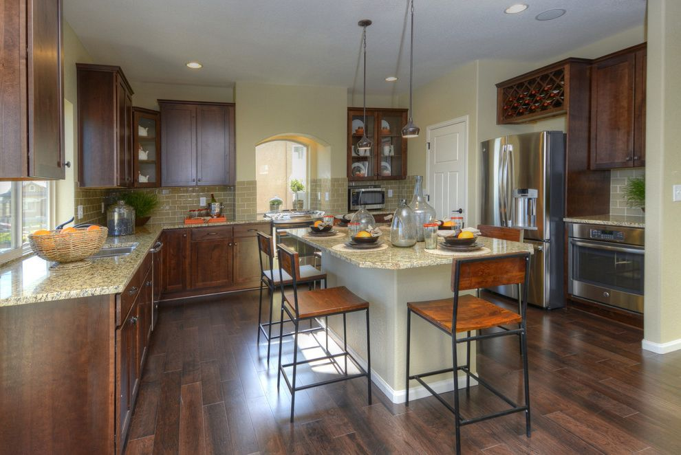 Oakwood Homes Colorado    Kitchen  and Cspoh14 Cspo14 Parade of Homes
