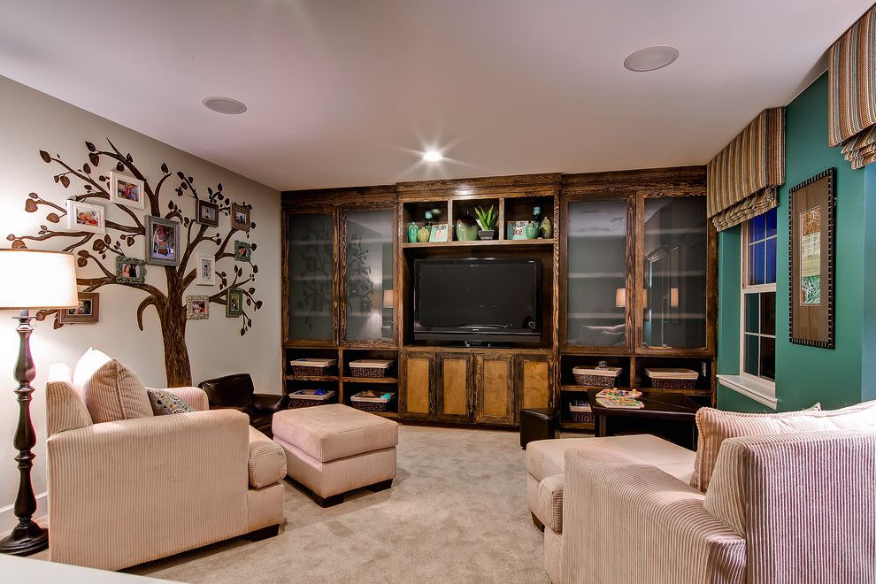 Oakwood Theater with Traditional Home Theater Also Colorado Home Family Room Oakwood Homes Smart Space the Riviera