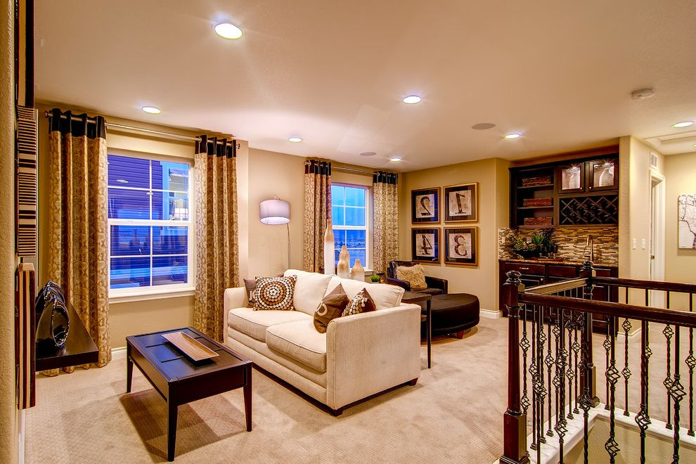 Oakwood Theater with Traditional Home Theater  and Colorado Homes Family Room Oakwood Homes Smart Space the Alamosa