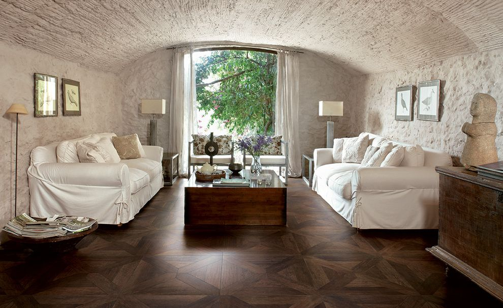 Oregon Tile and Marble with Mediterranean Living Room Also French Country Parquet Wood Look Porcelain Tile Settecento Vintage
