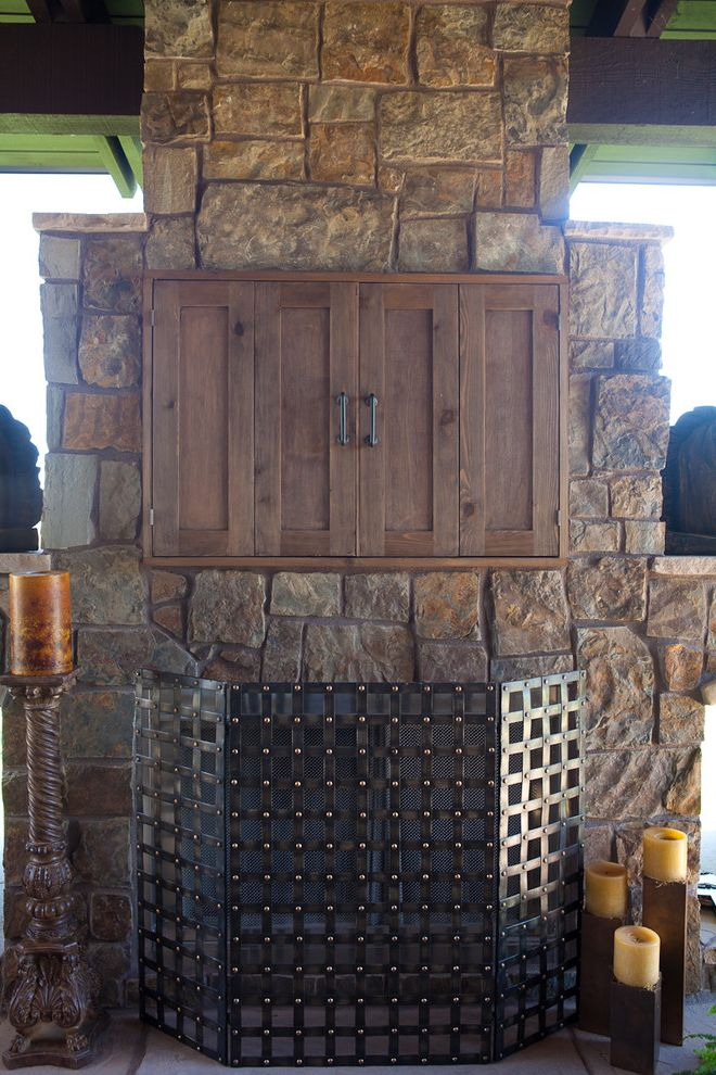 Outdoor Tv Cabinet Plans    Porch  And