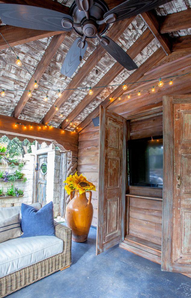 Top Outdoor Tv Cabinet Plans Shabby-Chic Style Patio Also Cabana  NY07
